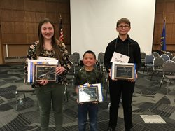 2019 Spelling Bee top three spellers