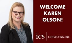 Welcome Karen Olson from ICS